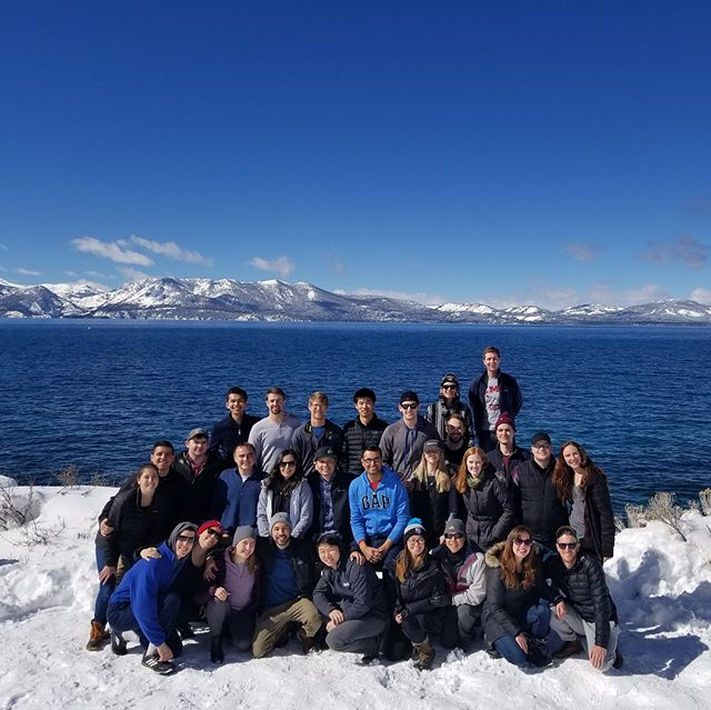 The snow came at a perfect time for our annual Tahoe ski trip! The group grew a little from last year and 7 YMF's were represented! Thank you to everyone who came out. We hope you enjoyed the weekend!