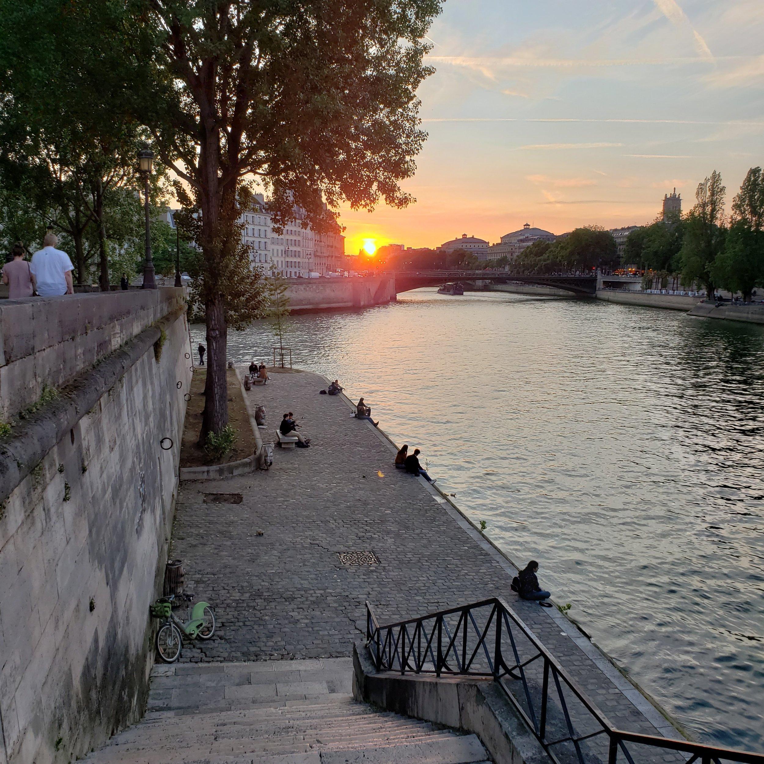 La Riviere Seine, June 2019