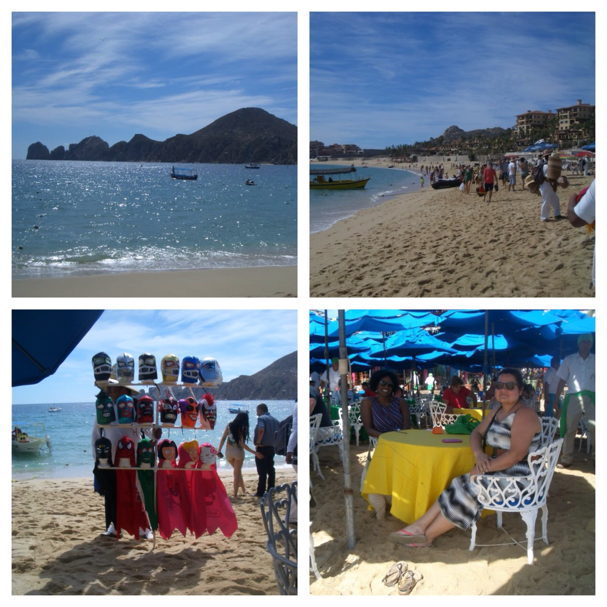 The neighboring party town of Cabo San Lucas popular with many tourists and students on spring break.