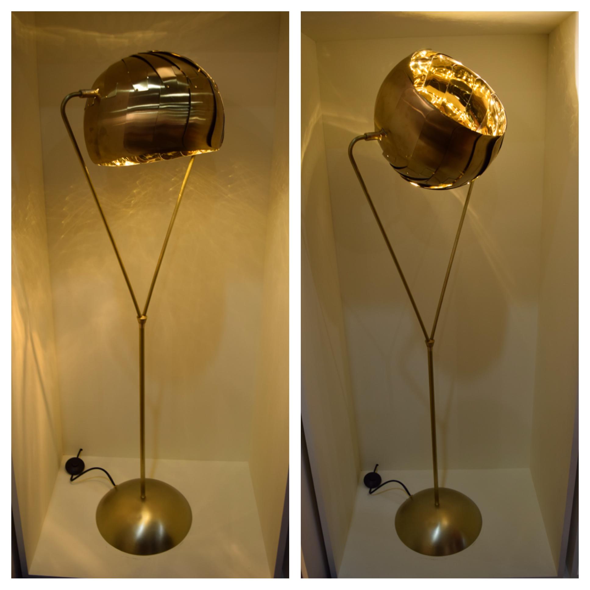 Iris Floor Lamp by  lightexture