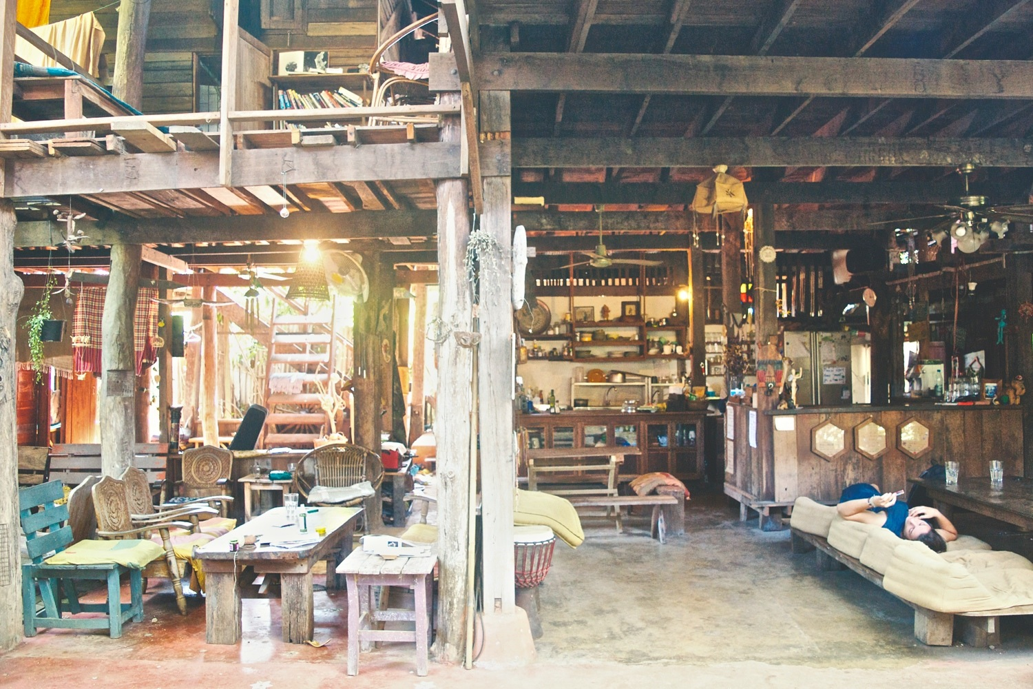 The eclectic, artistic accomodations