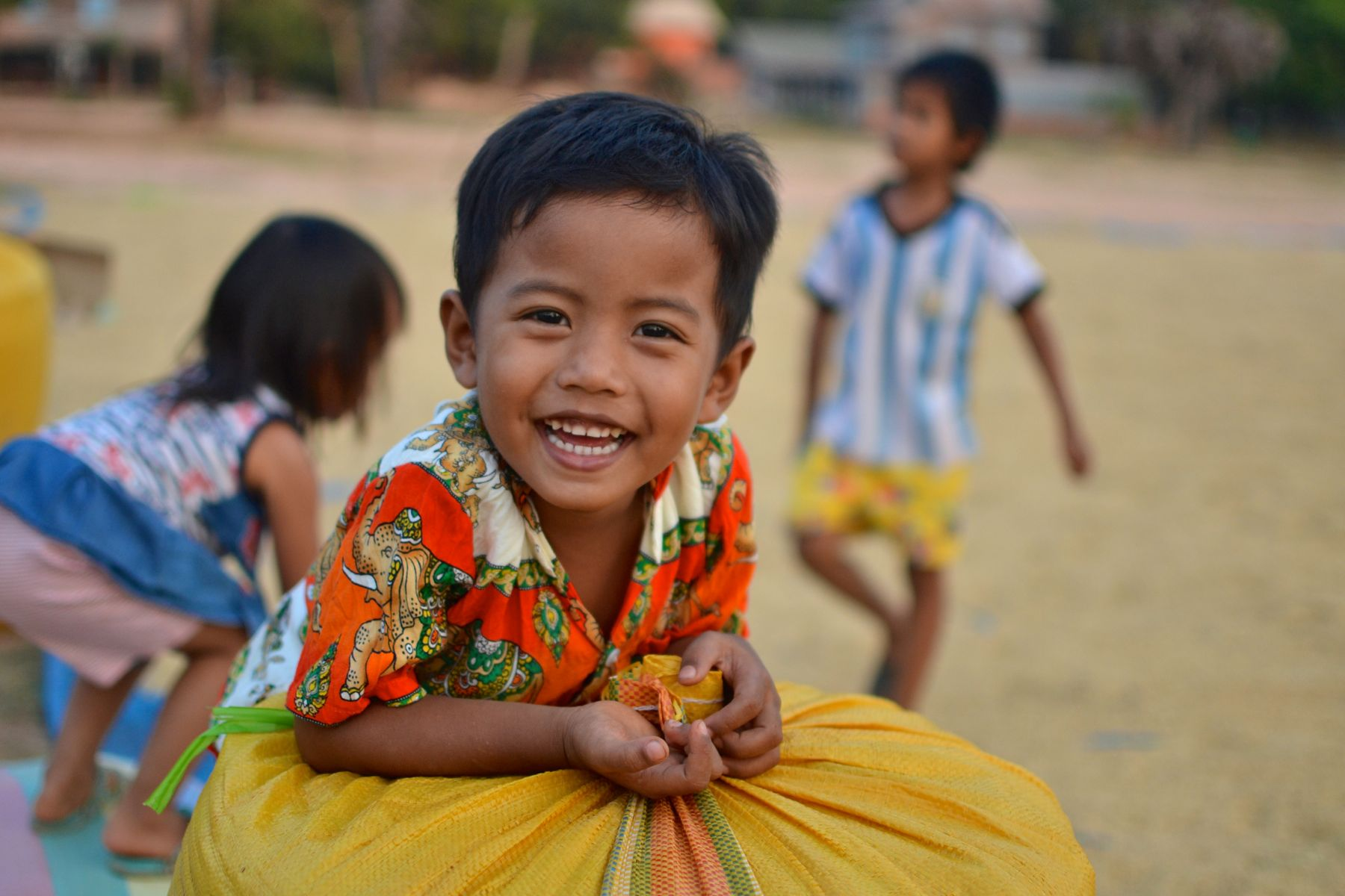 Smiling kids- found here in Siem Reap, Cambodia and also all around the world
