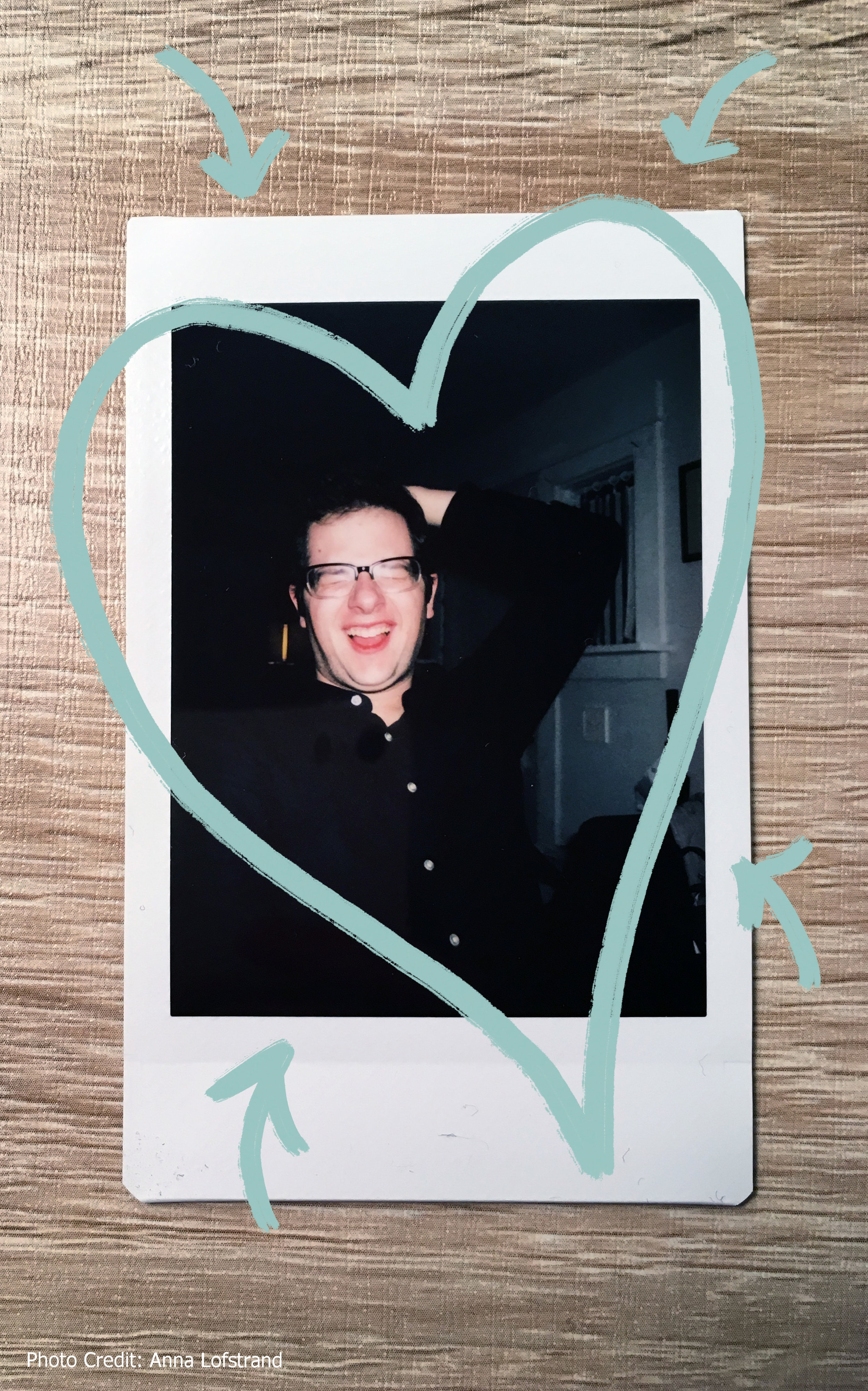 I love this (un)flattering photo of me because it's genuine. This is me. I laugh (a lot), I like people (a lot),& I bring a positive attitude wherever I go. -