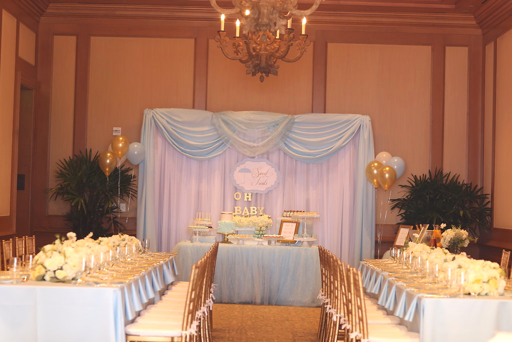 I wanted the sweet table to be the focus of the room.... And was it ever!