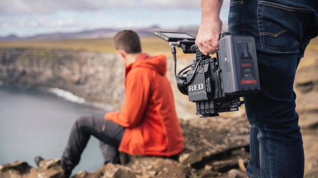 A successful first day of our latest project in Iceland featuring @mikeseehagel  w/ @notchvideo @americanexpress