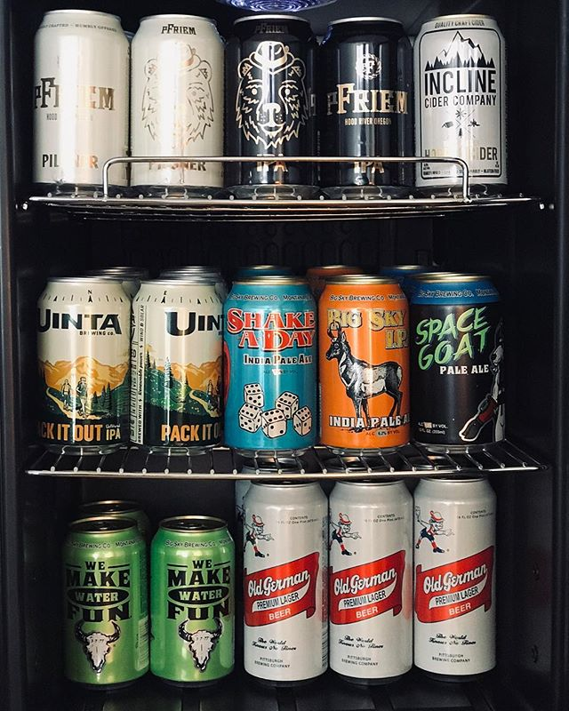 New selection and brand new cans from pFriem Brewing! $4.00 Micros Brews & $3.00 Tall Cans