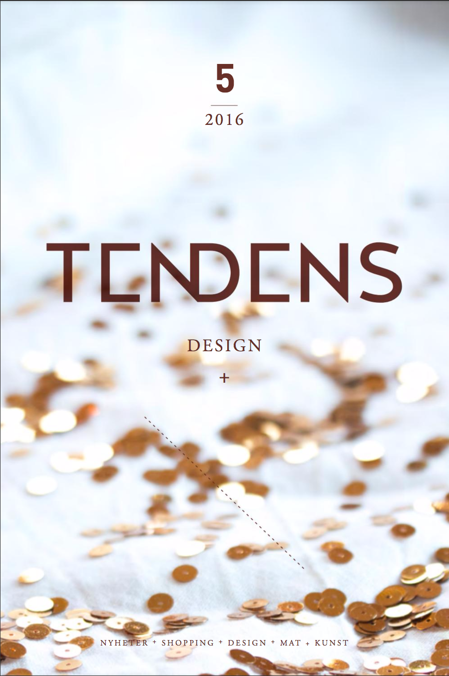 TENDENS  Design magazine featuring POAST at  Wallendahl Magasin