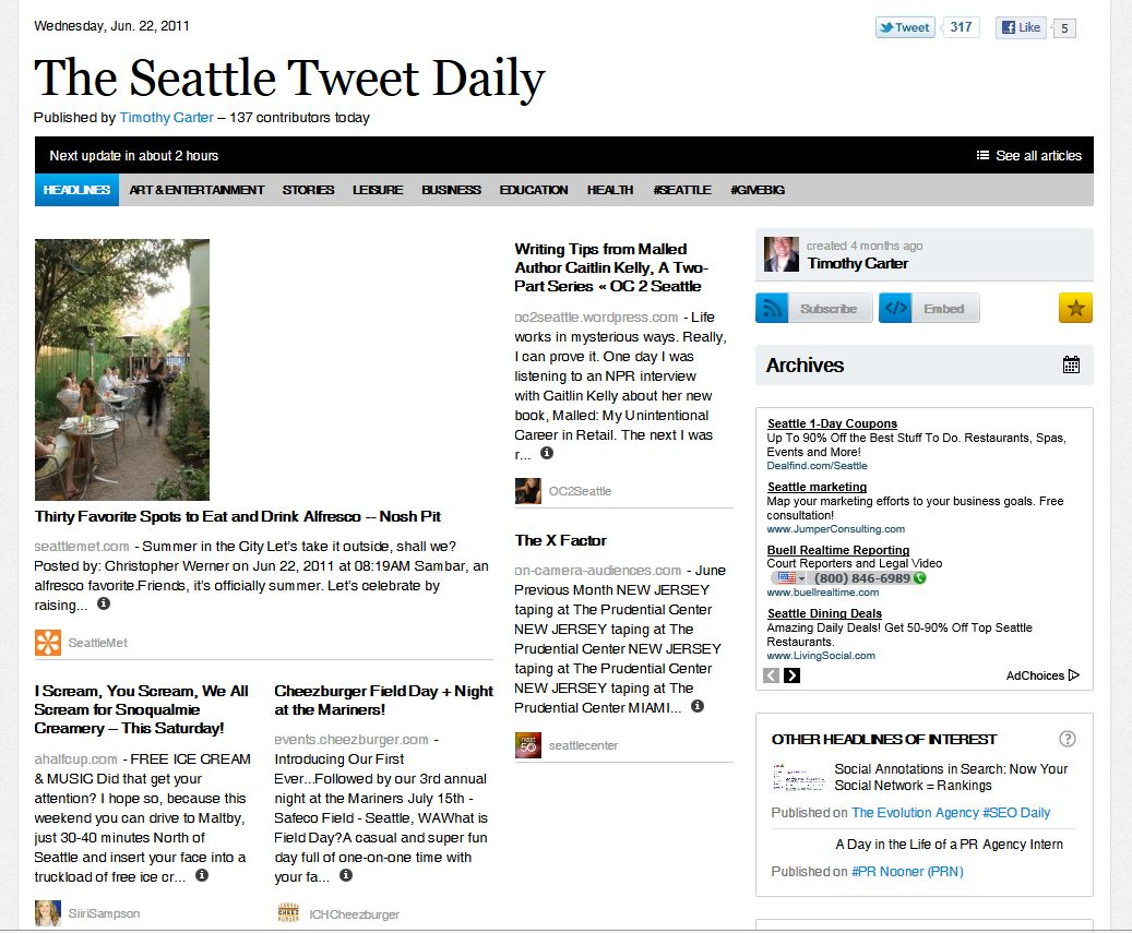 Sampson_The Seattle Tweet Daily Paper.JPG