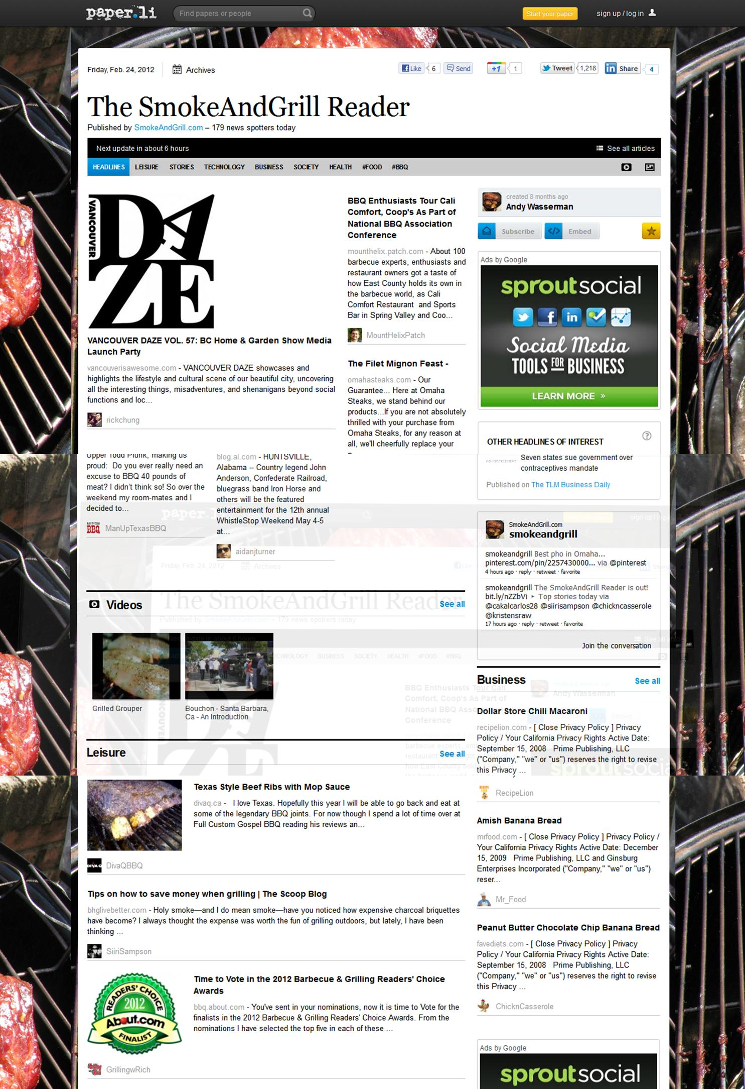 Sampson_The Smoke And Grill Reader Paper_Tweet Coverage_022412.jpg