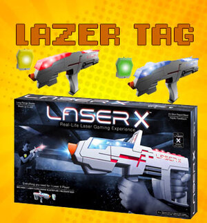 Every Game Night, everyone has a chance to participate in the Laser Tag Events. We usually hold about two sessions so make sure to get here and get into the game!