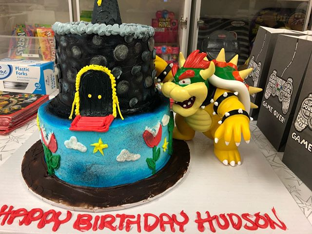 Another Birthday Celebration! Happy Birthday Hudson! We LOVE celebrating special days! - - #birthday #specialday #happybirthday #atampalisades #wow #awesome #happy #faces #mario #supermario #minecraft #weekend #celebration #seven #digital #happyplace #2019 #like #share #comment #come