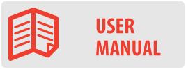 User Manual   UC-PRO210 Medium Ceiling Swivel TV Mount