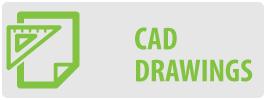 CAD Drawings | FT64 Large Tilt TV Wall Mount