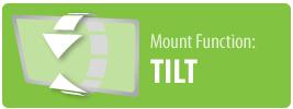 Mount Function: Tilt | Tilt TV Wall Mount