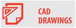 CAD Drawings | SH-PRO500 AV Component Single Shelf Mount