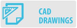 CAD Drawings | UF-PRO210 Medium Flat TV Wall Mount