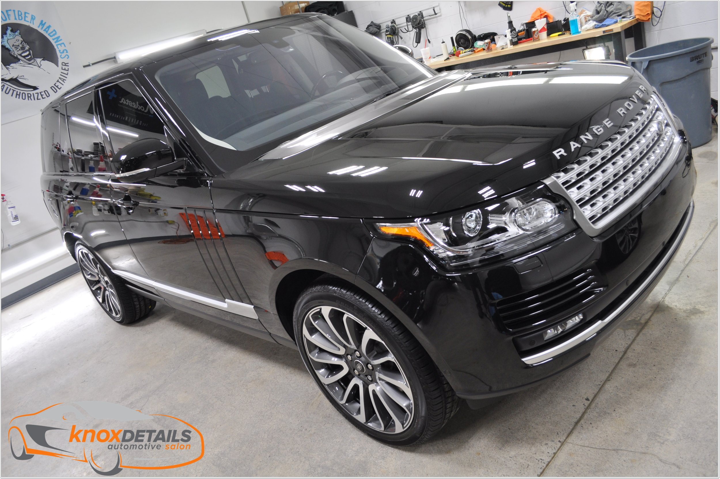 Range Rover properly prepared and protected with Modesta BC-08 Neo-Silica Coating