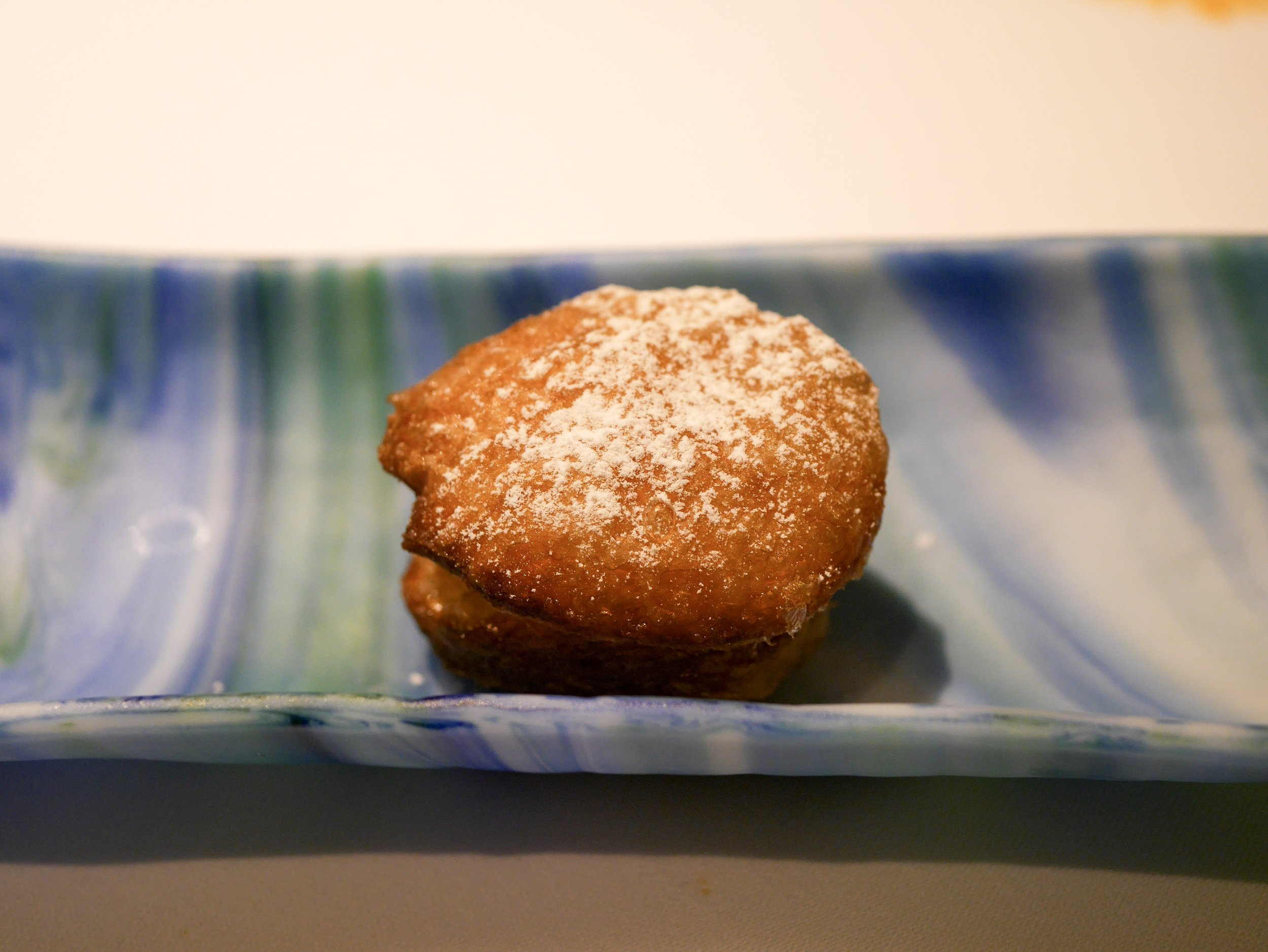 Cronut stuffed with kheer