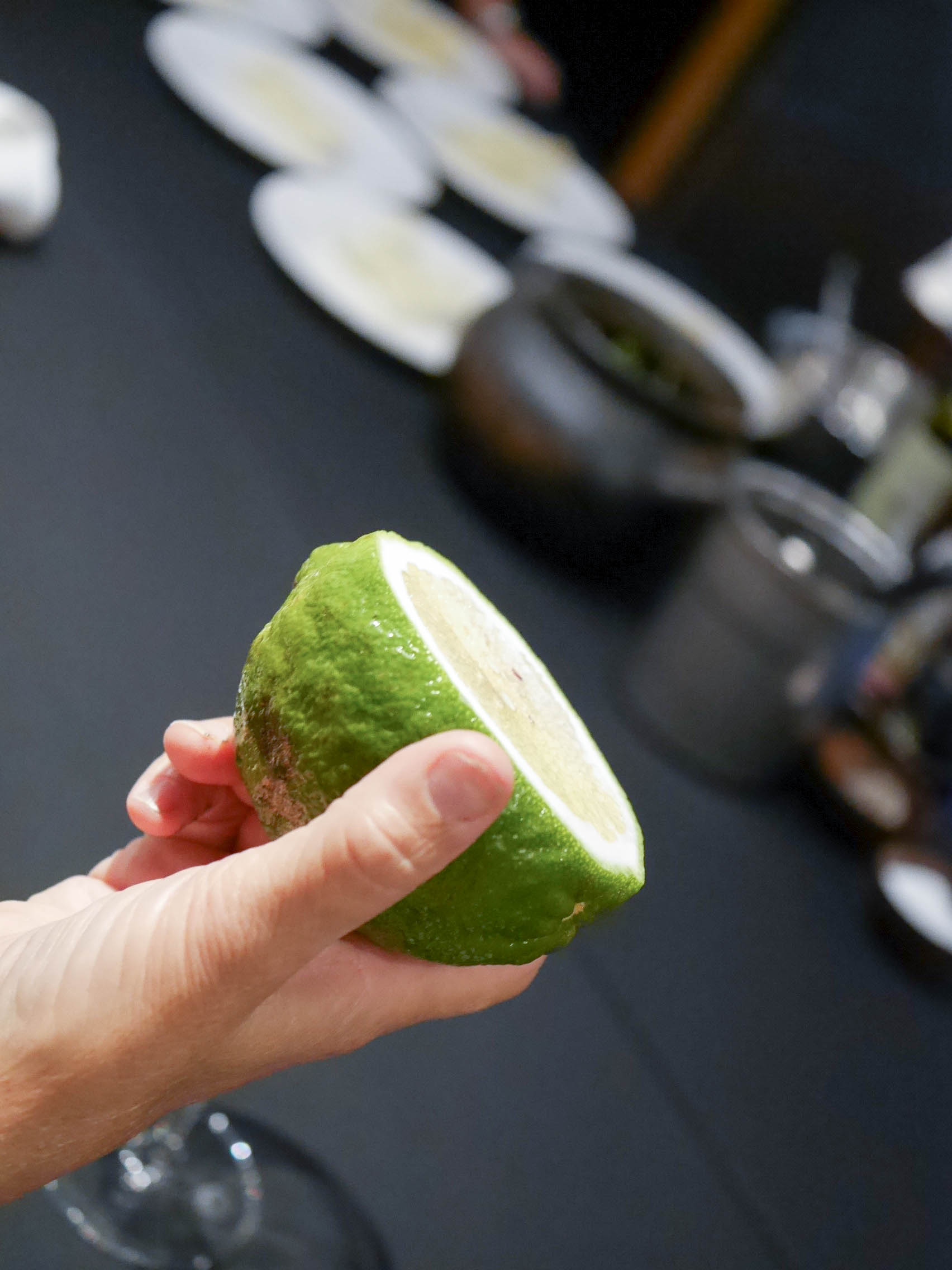 Giant Peruvian lime