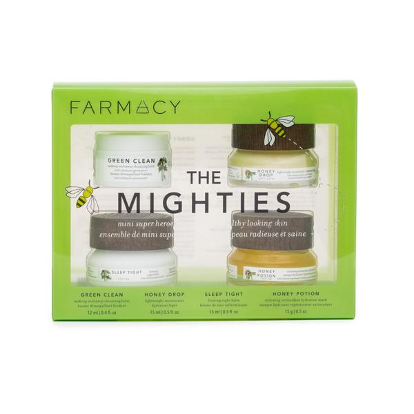 FARMACY BEAUTY - THE MIGHTIES - This is the ultimate skincare pack. Besides my go to face mask, this beautiful set also comes with a cleansing balm, moisturizer, night balm, and an eye cream. You really can't go wrong when gifting this because its a perfect way for anyone to pamper themselves. All amazing products and at a great price of $45. Receive 15% off your order with this link: https://prz.io/ApAlQLIE