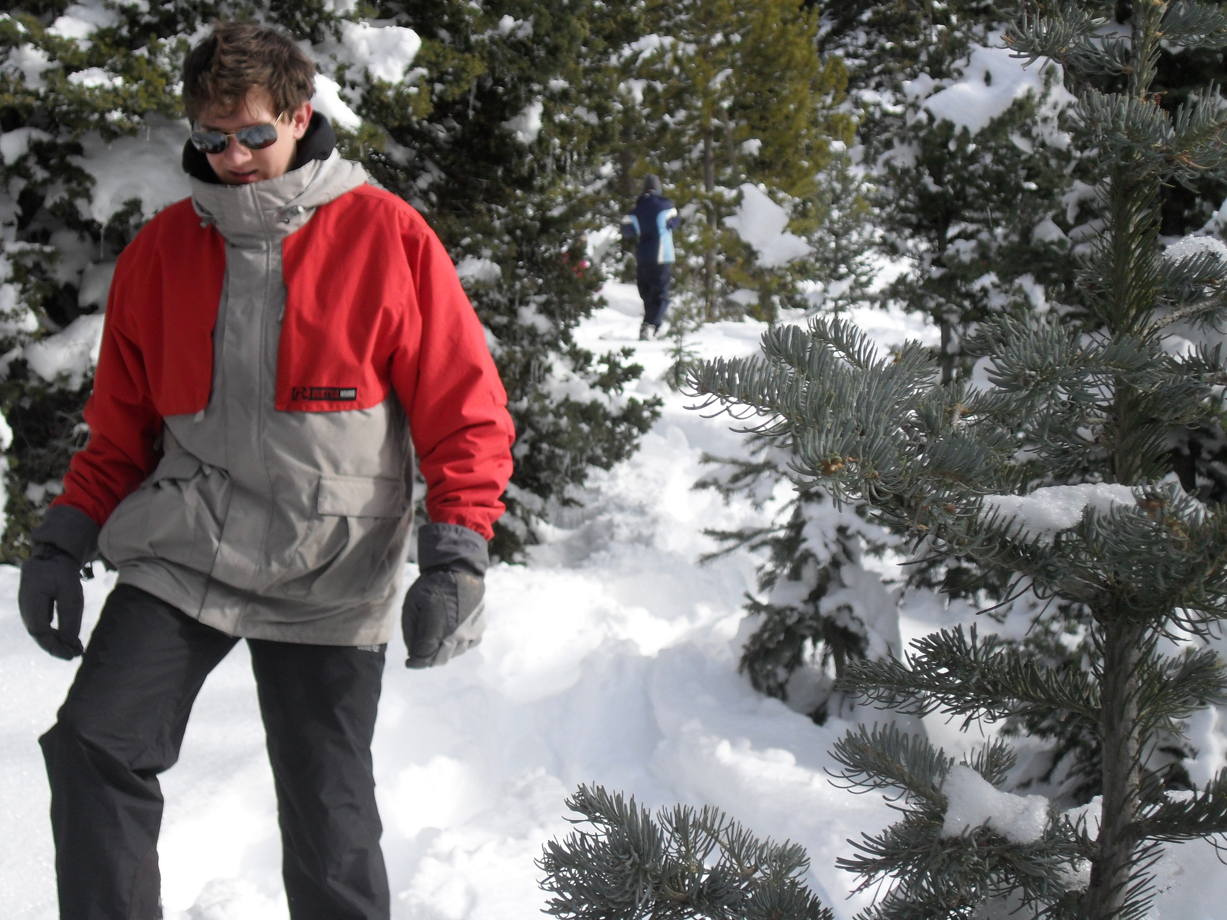 """""""Ben 2"""" was there as a backup Ben in case I fell into a snow vortex."""