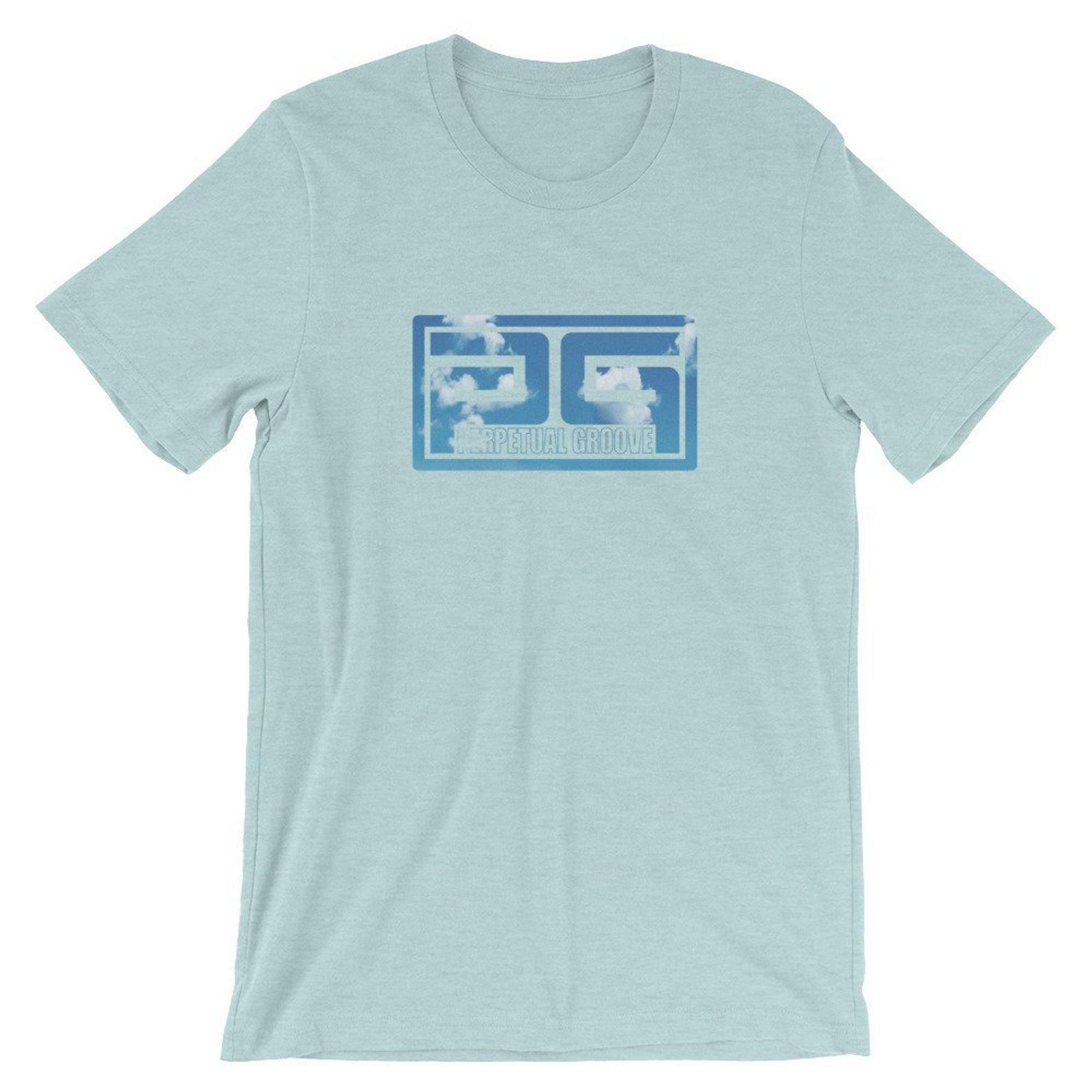 Blue Sky Block Logo Tee Perpetual Groove Shirt