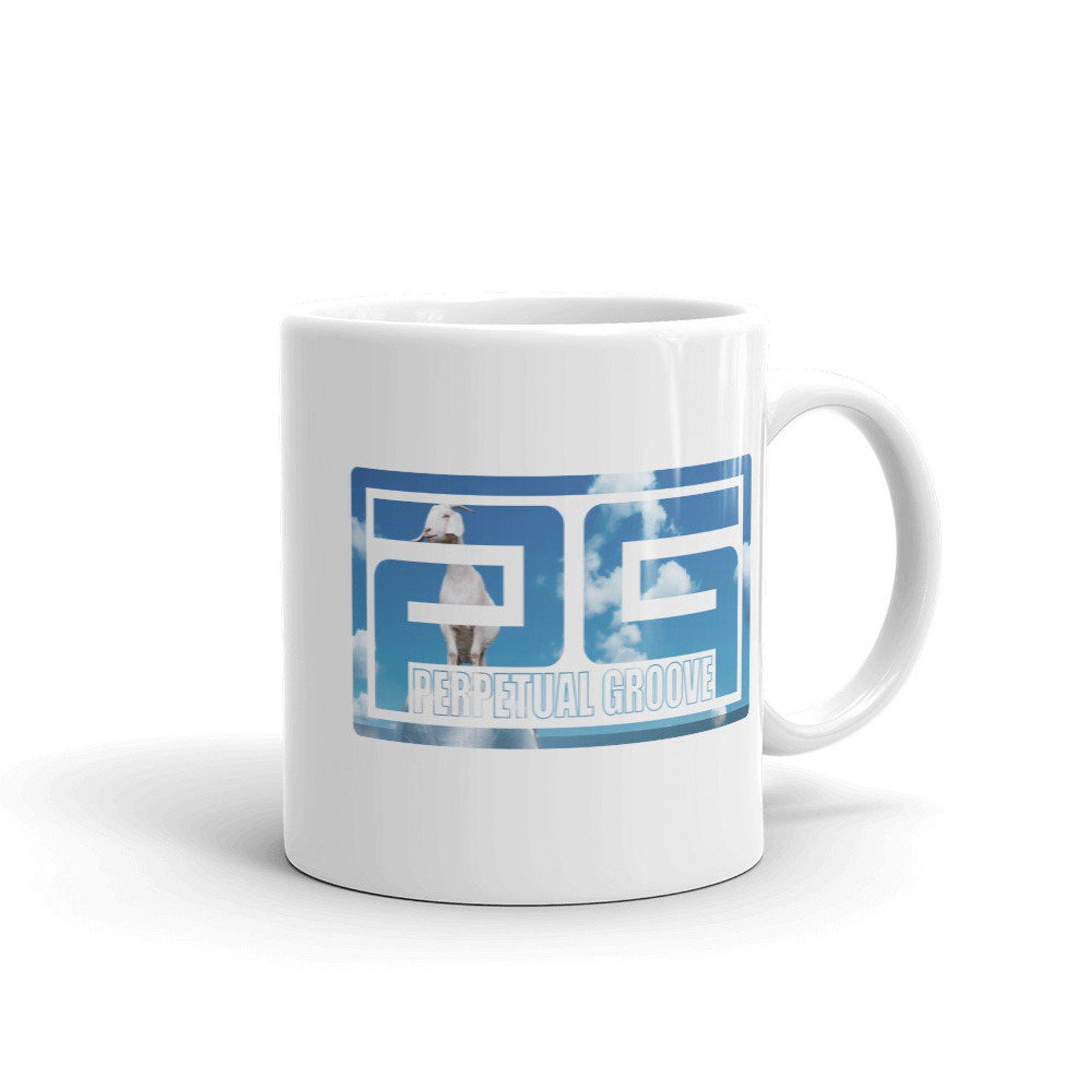 Goat Block Logo Mug Perpetual Groove