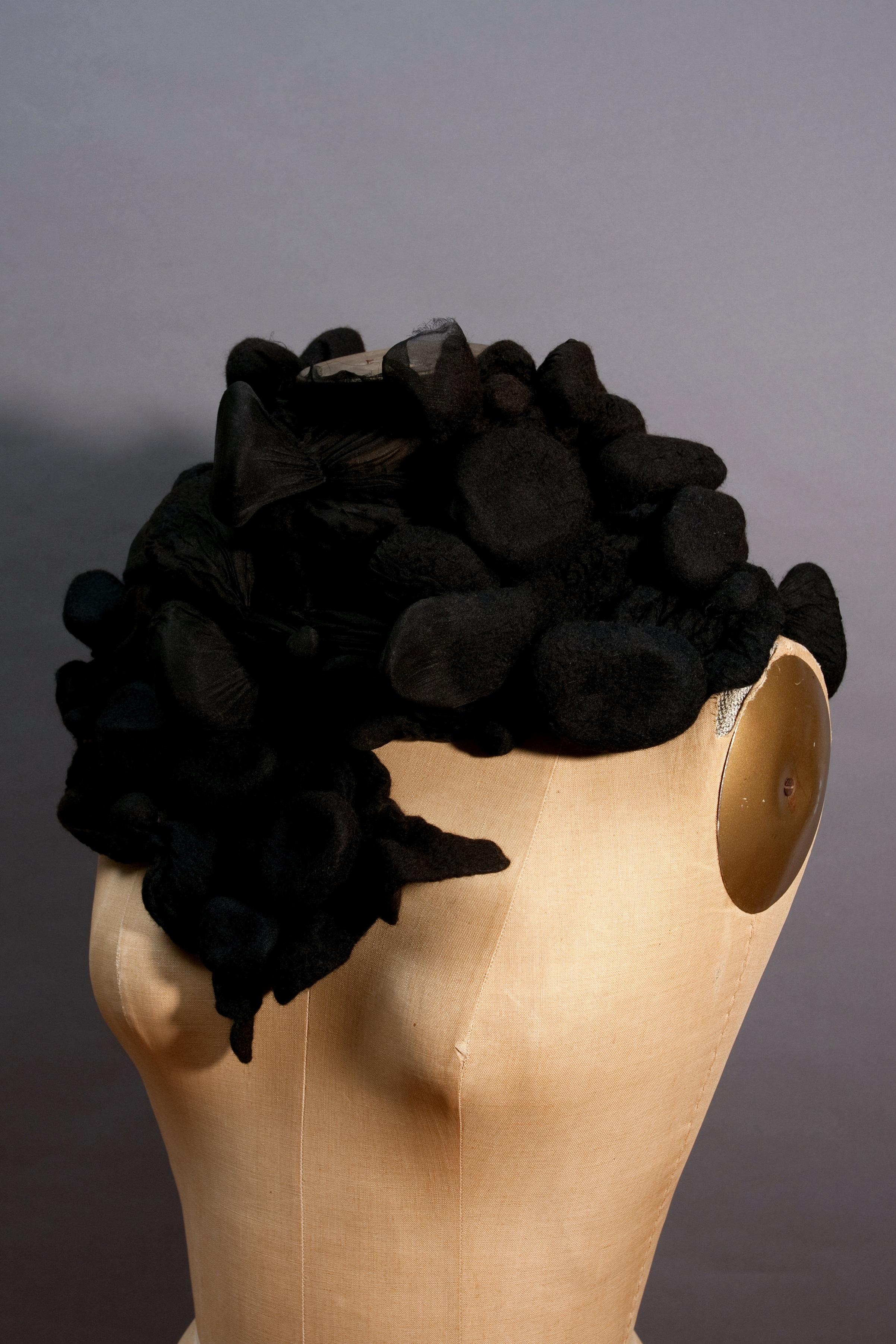 twelve/nuno felted silk with embellishments