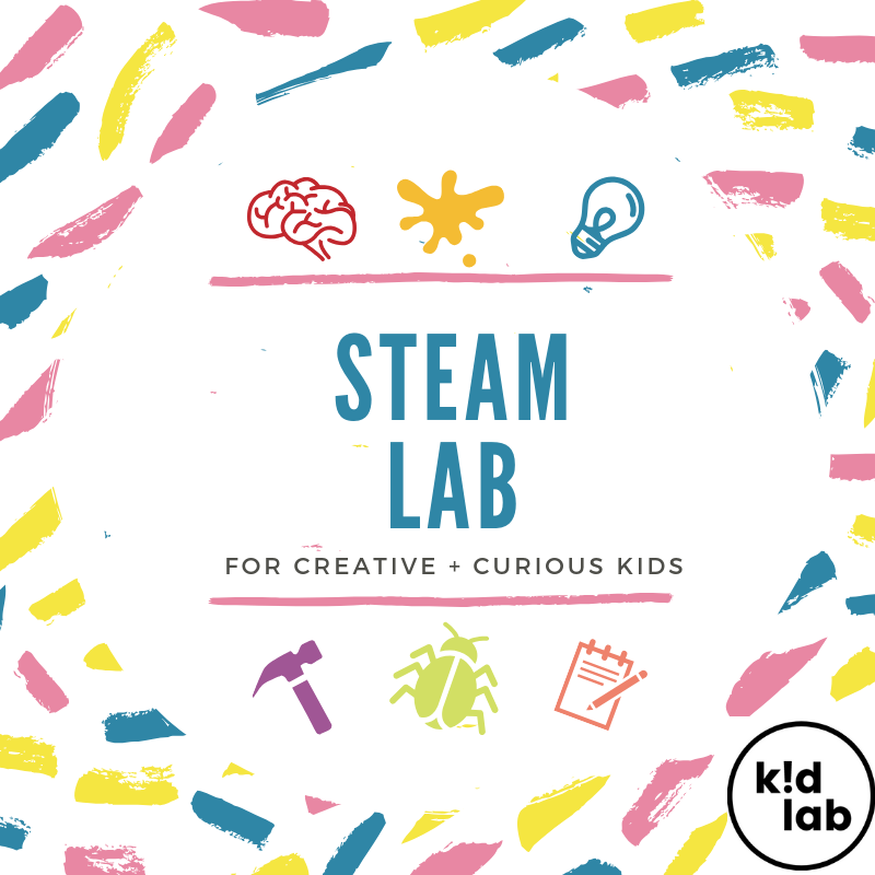 STEAM LABS - We're rolling up our sleeves and exploring all kinds of things in these S.T.E.A.M. (Science, Technology, Engineering, Arts and Math) sessions. Recommended for homeschool groups, small school field trips and individual students, grades K-5.