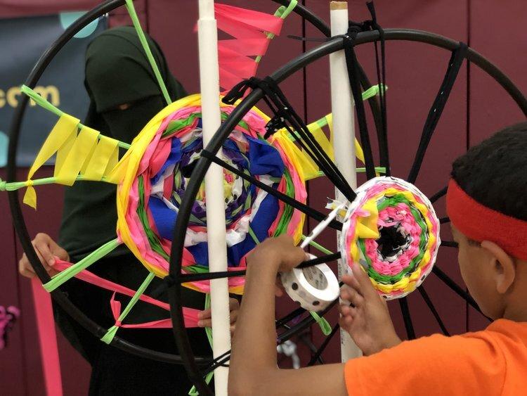 kid-lab-community-art-hoopla-project
