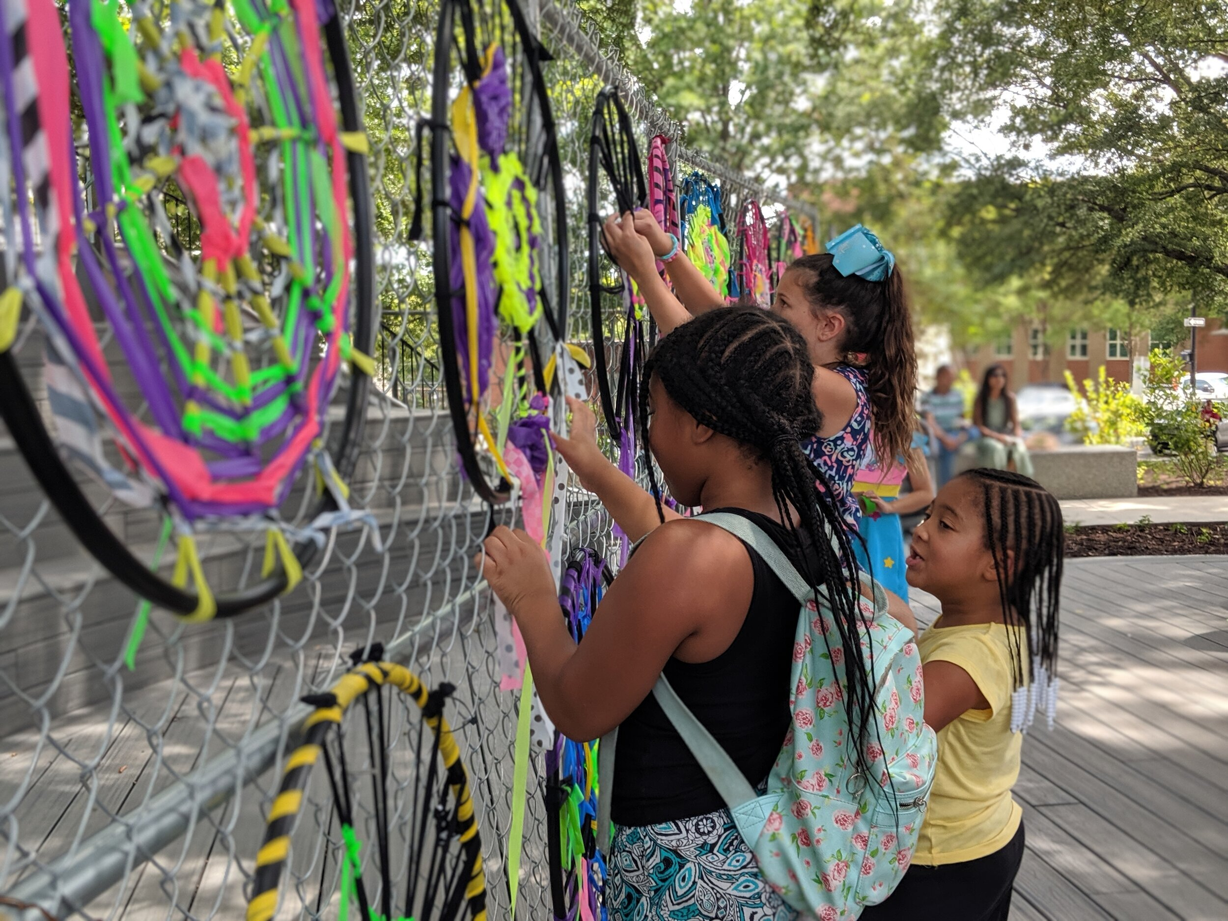 Community Art Collective - We are a team of artists, educators and creative catalysts committed to using our talents to see Raleigh thrive. We create projects and experiences designed to enhance public spaces, facilitate playful learning and build community.