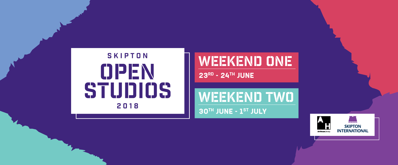 http://www.skiptonopenstudios.je/artists/gabriella-street  The website is up for 'Skipton Open Studios' with all the up to date information you need.  I will be exhibiting my work from the 23rd June - 1st July in Picquet House, St. Helier.