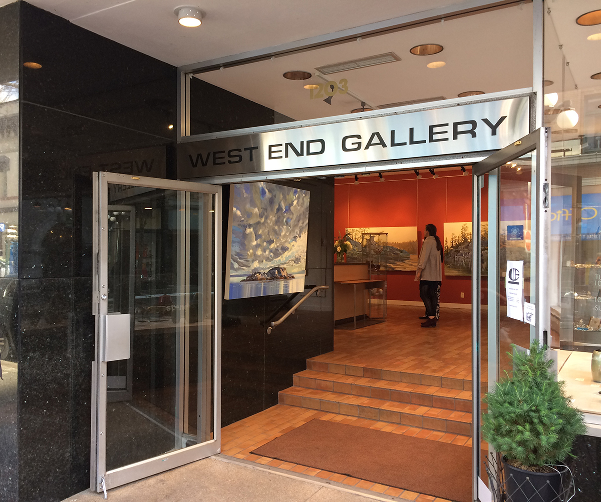 Show at West End Gallery, Victoria. February 2017