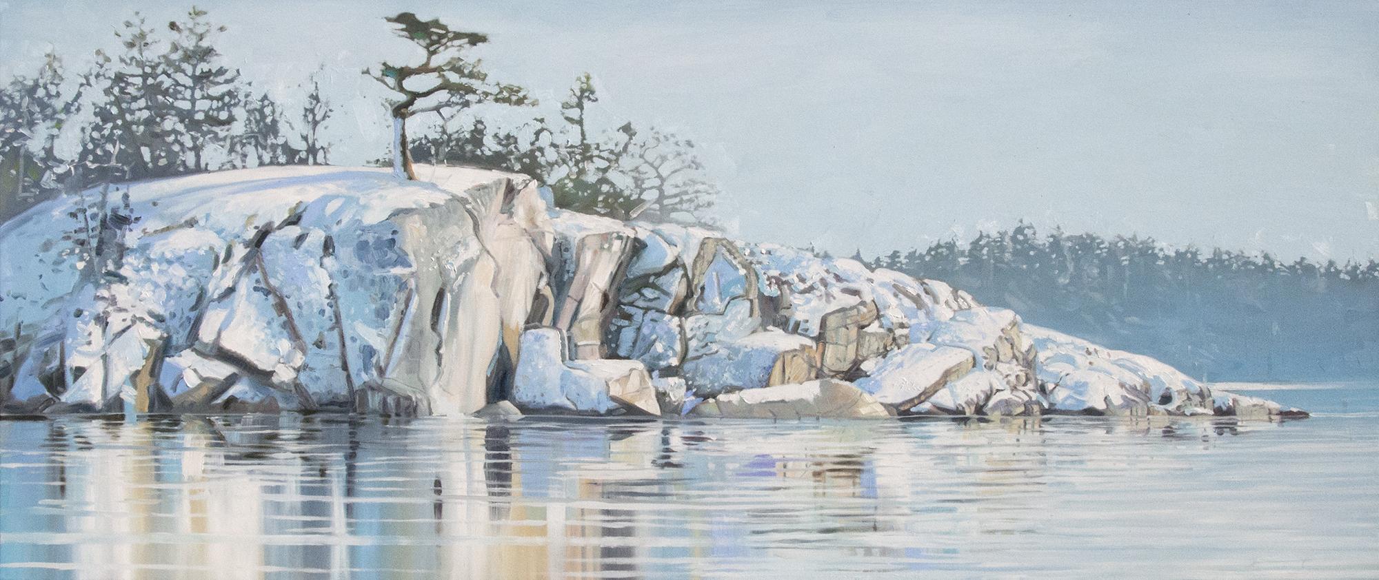 Snowy Shoreline II