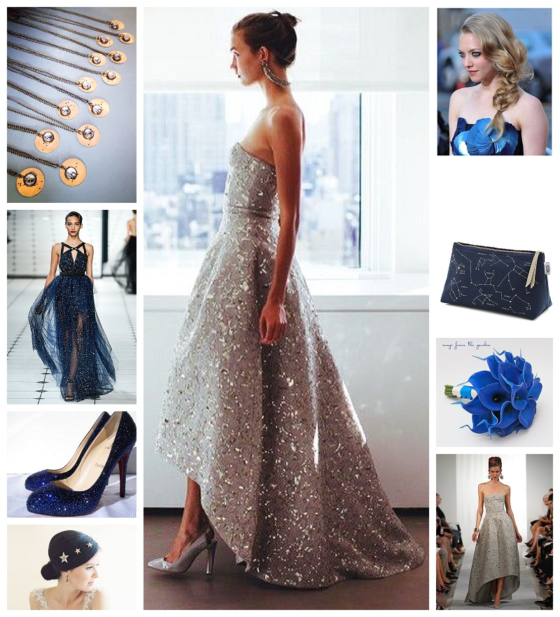 Chicago Wedding Planner Astronomy Theme Bridal Looks