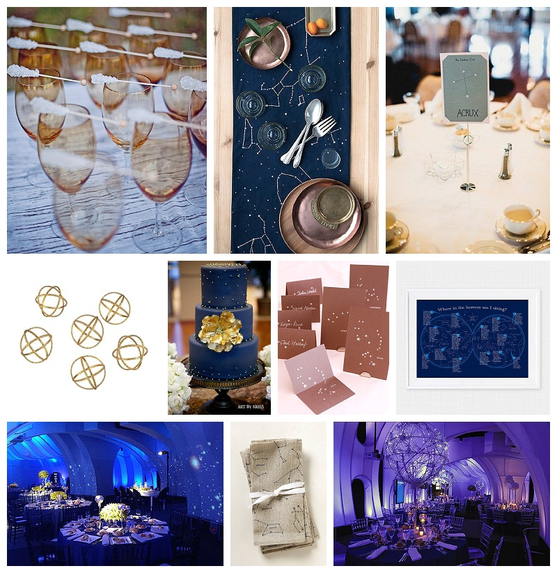 Chicago Wedding Planner Astronomy Theme Decor