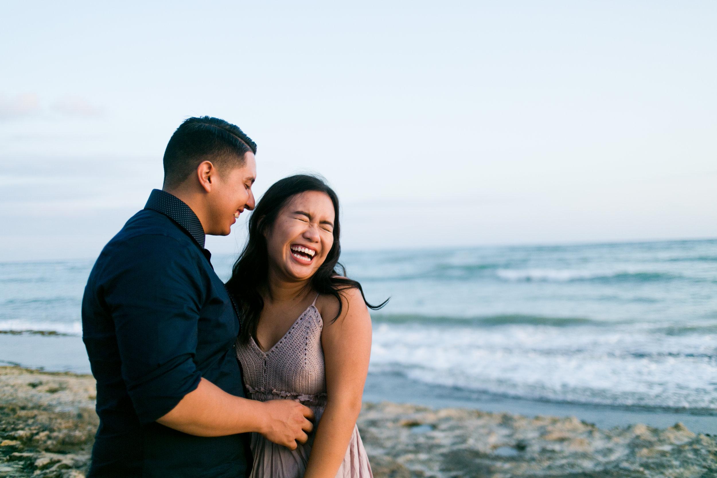 Nimitiz Beach Hawaii Couple Session