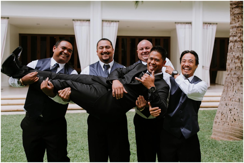 Groomsmen, Halekulani Hotel Wedding Photos, Waikiki Hawaii Wedding Photographer, Hawaii Wedding Photographer, Hawaii Wedding Photos, Hotel Wedding in Hawaii, Halekulani Hotel, Waikiki Wedding