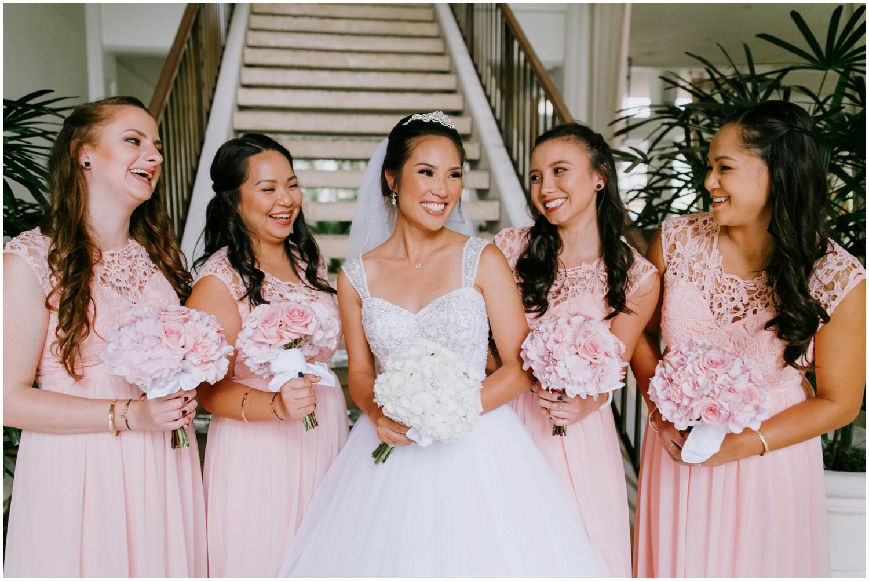 Bridesmaids, Halekulani Hotel Wedding Photos, Waikiki Hawaii Wedding Photographer, Hawaii Wedding Photographer, Hawaii Wedding Photos, Hotel Wedding in Hawaii, Halekulani Hotel, Waikiki Wedding