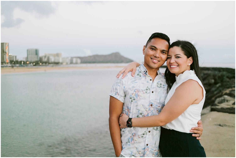 Kakaako Hawaii Engagement Photographer, Kakaako Hawaii Engagement Photos, KakaakoEngagement Session, Honolulu Magic Island, Engagement photos at Magic Island Hawaii,Honolulu Engagement Photographer