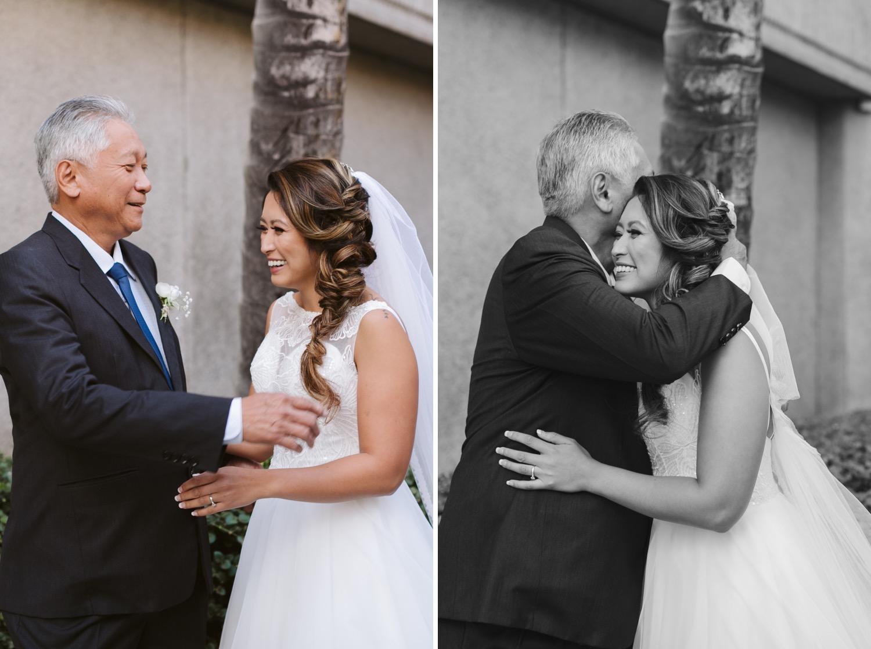 Julia_Hawaii_look_Honolulu_Bride_Wedding_Cafe_dad_first_Hug.jpg
