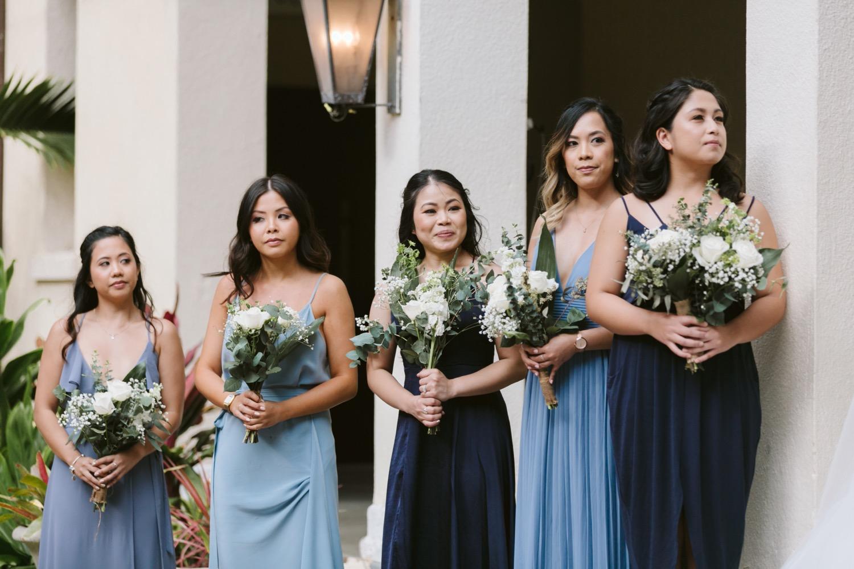 Julia_Bridesmaids_Hawaii_Shades_Ceremony_Honolulu_Wedding_Cafe_Blue.jpg
