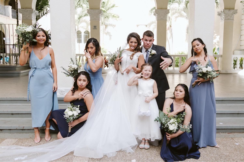 Julia_Bridesmaids_Groom_Hawaii_Honolulu_Bride_Wedding_Cafe.jpg