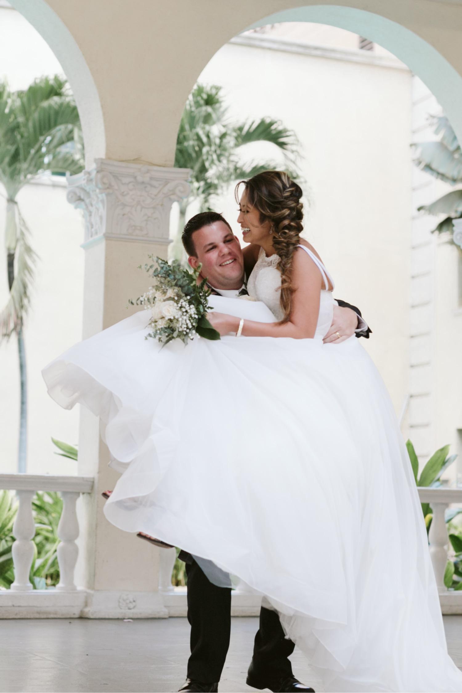 Julia_Groom_entrance_Grand_Honolulu_Wedding_Bride_Cafe_Hawaii_reception.jpg