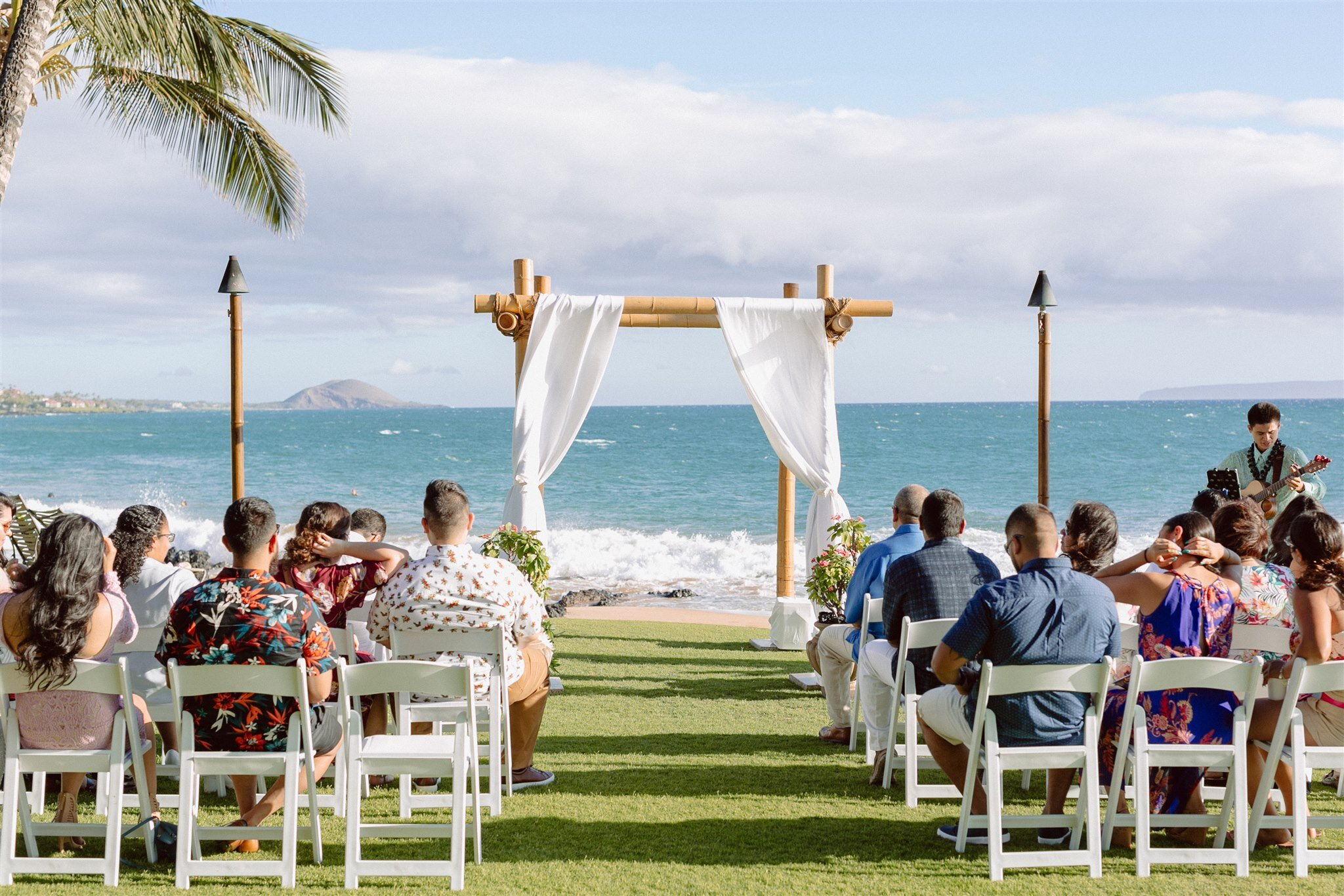 5-Palms-Restaurant-Maui-Hawaii-Wedding-ceremony-palm-trees-ocean-view