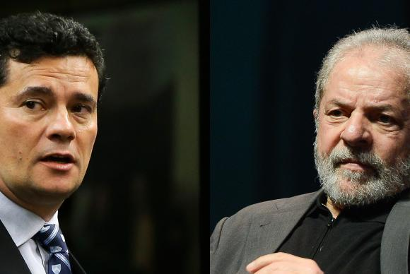 Federal Judge Sergio Moro and former President Lula