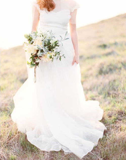 Bridal Bouquet by Kate Healey of Big Sur Flowers