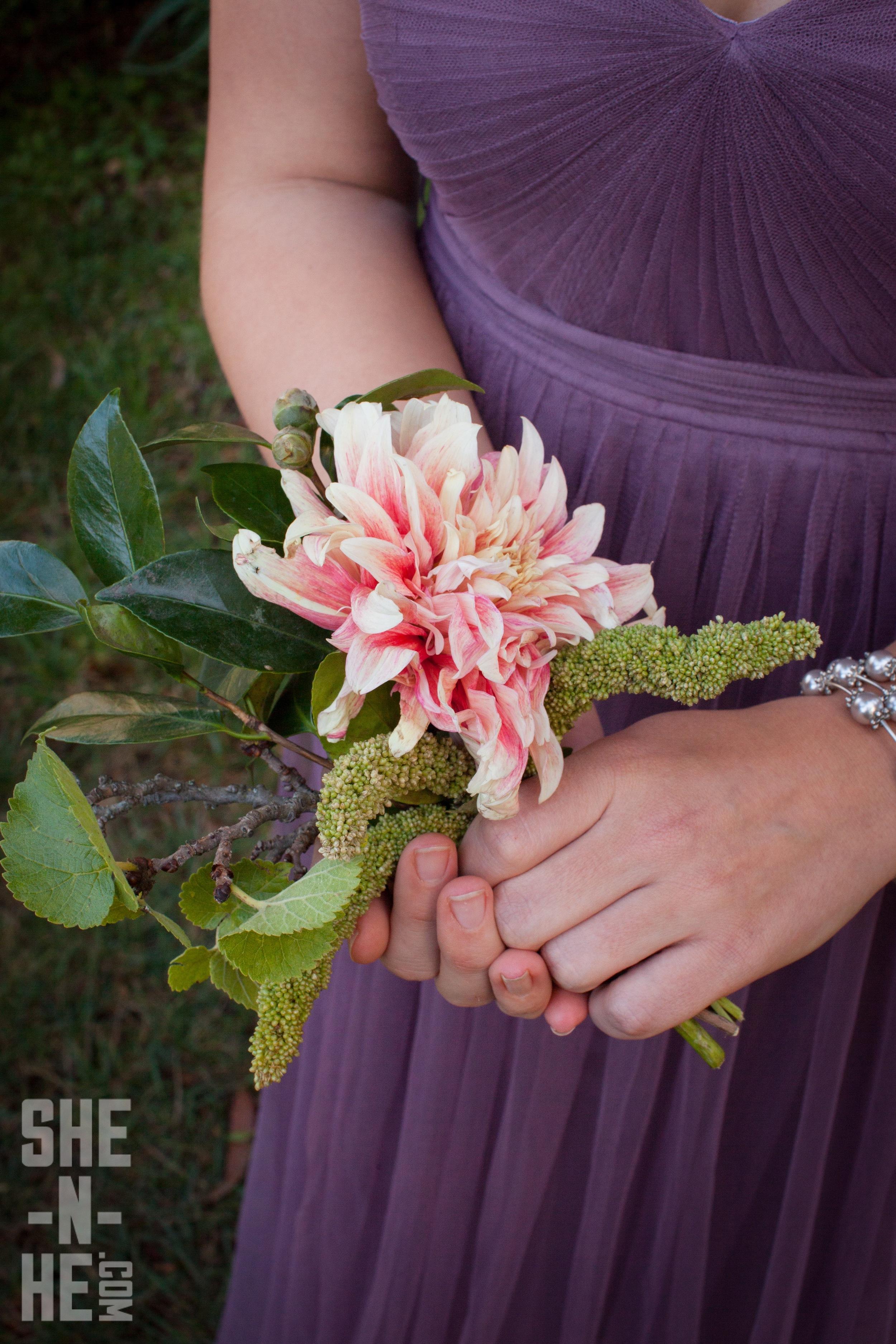 Bridesmaids Bouquet by Big Sur Flowers