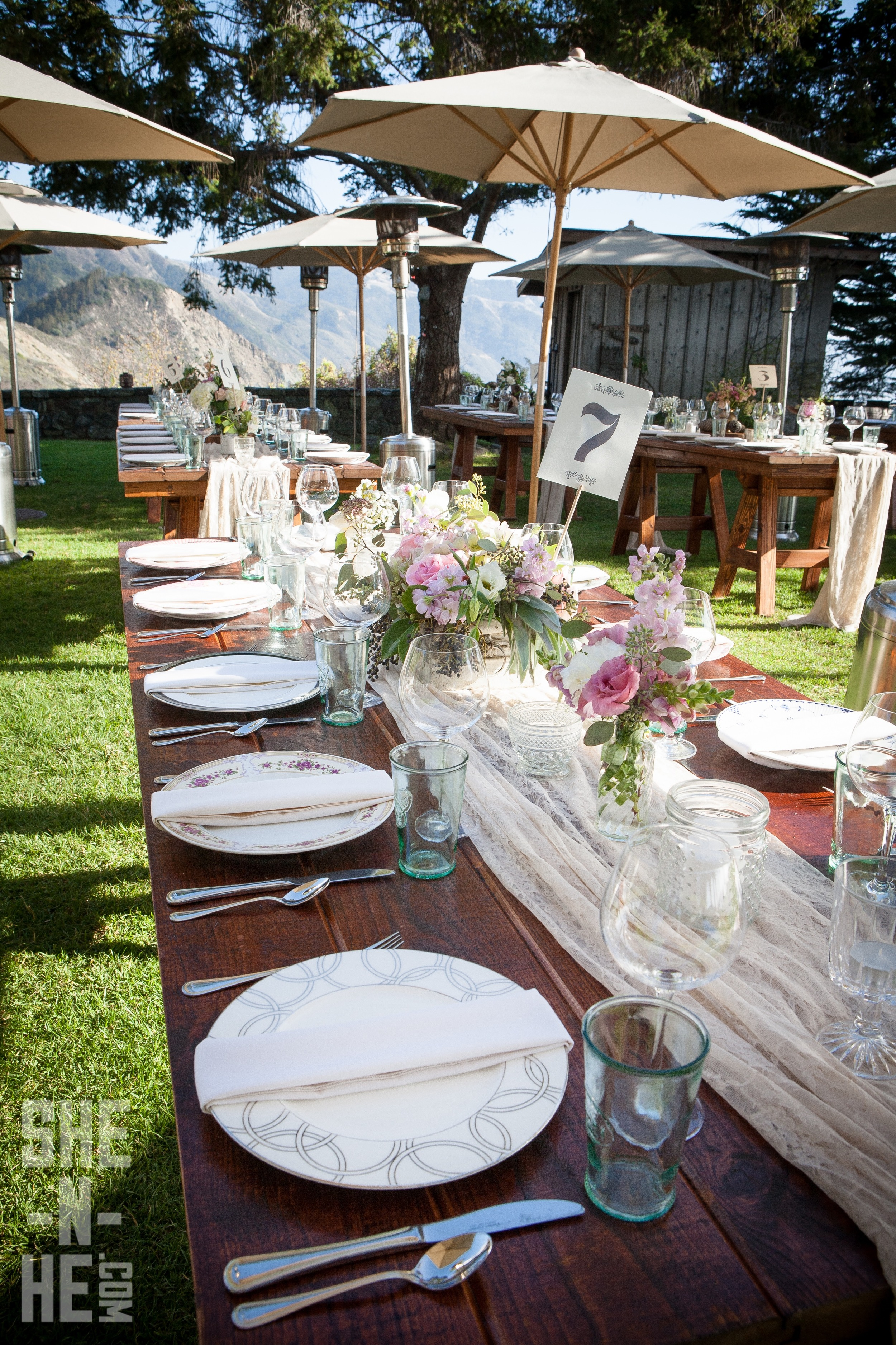 Wedding Table Decor by Kate Healey