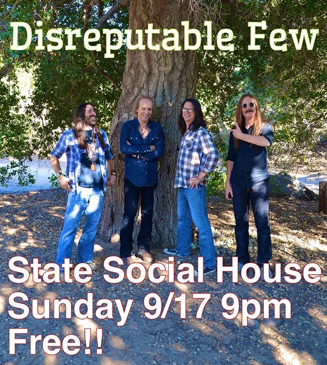 Back at it Sunday, Sunday, Sunday! State Social House 9pm FREE!!! come on down! #mrzeus #jamband @statesocialhouse #randyraymitchell @danpotruchondrums @marktremalgia @paulillmusic #wedgiepicks #gogotuners